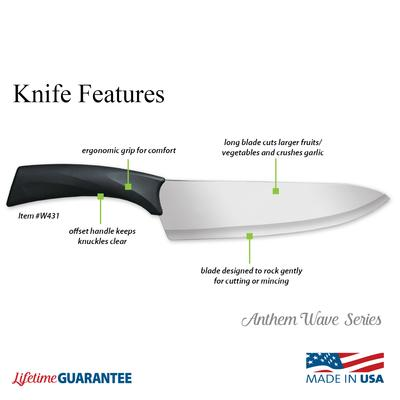 Anthem Wave French Chef Knife