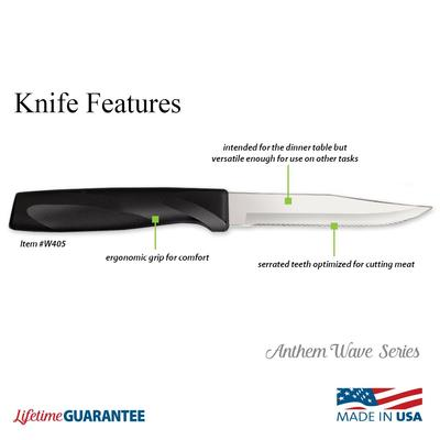 Anthem Wave Steak Knife